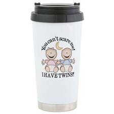 Cute Mother of twins Travel Mug