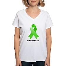 Personalize Lymphoma Ribbon T-Shirt