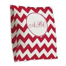Cute Patterns Burlap Throw Pillow