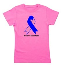 Personalize Male Breast Cancer Girl's Tee