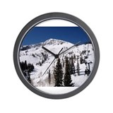 I love mountains Wall Clock