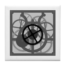 Clockwork Tile Coaster
