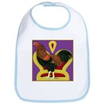 King Chantecler Bib