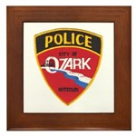 Ozark Missouri Police Framed Tile