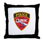 Ozark Missouri Police Throw Pillow