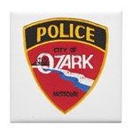 Ozark Missouri Police Tile Coaster
