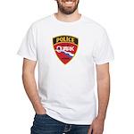 Ozark Missouri Police White T-Shirt
