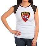 Ozark Missouri Police Women's Cap Sleeve T-Shirt