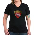 Ozark Missouri Police Women's V-Neck Dark T-Shirt