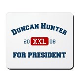 Duncan Hunter for President Mousepad