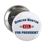 Duncan Hunter for President Button