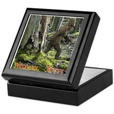 Morel Yeti Big foot gifts Keepsake Box