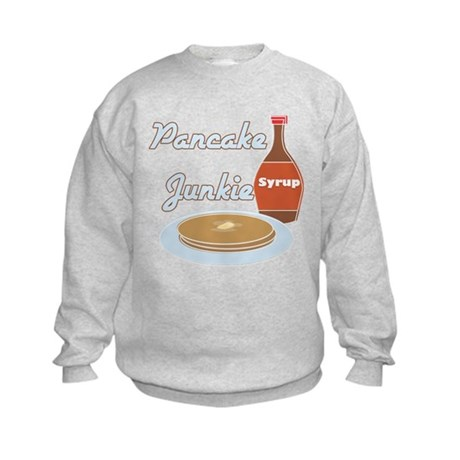 Pancake Junkie Kids Sweatshirt