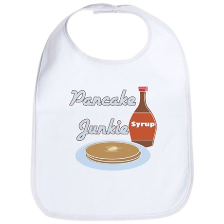 Pancake Junkie Bib