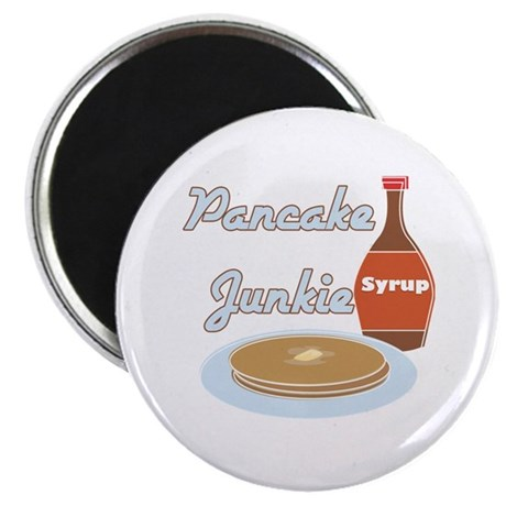 Pancake Junkie Magnet
