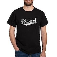 Phaneuf, Retro, T-Shirt