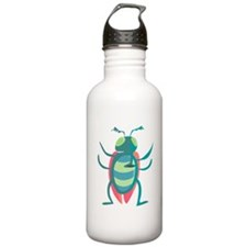 Cartoon Mosquito Water Bottle