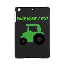 Custom Green Tractor iPad Mini Case