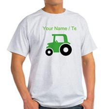 Custom Green Tractor T-Shirt