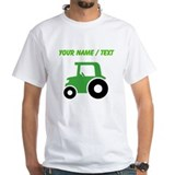 Tractor Mens White T-shirts