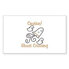 Ghost Crossing Decal