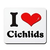 I love cichlids  Mousepad