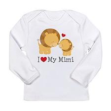 I Love Mimi Long Sleeve Infant T-Shirt