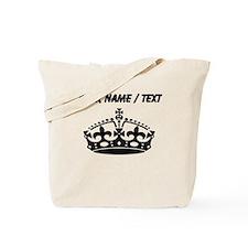 Custom Crown Tote Bag