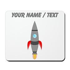 Custom Rocket Ship Mousepad