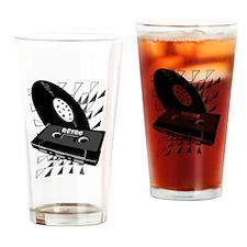 Unique Tape recorder Drinking Glass