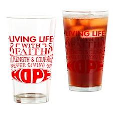 Epidermolysis Faith Drinking Glass