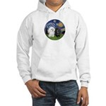 Starry-Two Poodles (Min) Hoodie