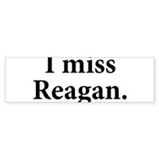 Unique Reagan Bumper Sticker