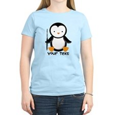 Personalized Flute Penguin T-Shirt