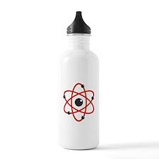Red Atom Water Bottle