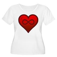 Infinite Love - Heart Shape - Girl Tease Plus Size
