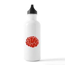Red Brain Water Bottle