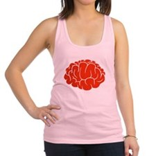 Red Brain Racerback Tank Top