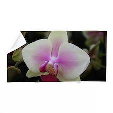 Yellow Phalaenopsis Orchid Beach Towel