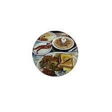 Waffle House Mini Button
