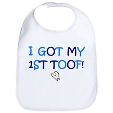 I GOT MY 1ST TOOF! Bib