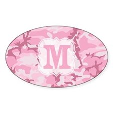 Monogram Pink Camouflage Decal