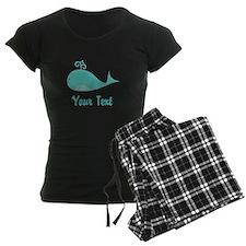 Personalizable Cute Whale Pajamas