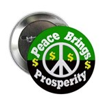 Ten Pack Peace and Prosperity Buttons