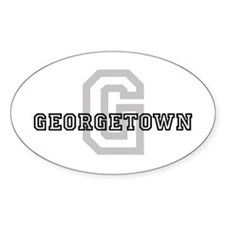 Georgetown Decal