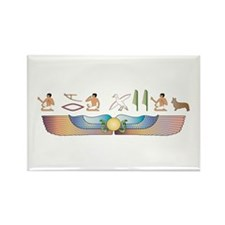 Cardigan Hieroglyphs Rectangle Magnet (100 pack)