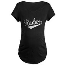 Radar, Retro, Maternity T-Shirt