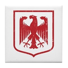 Strk3 German Eagle Tile Coaster