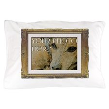 Your Photo in a Fancy Frame Pillow Case