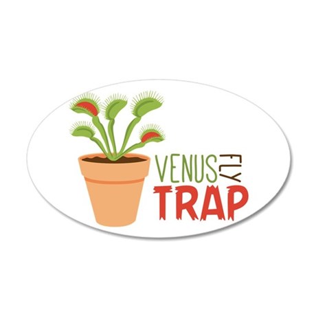 VENUS FLY TRAP Wall Decal